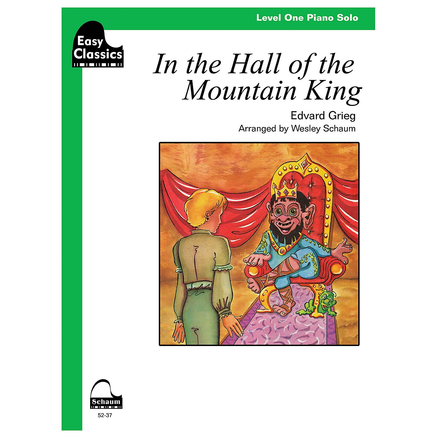 SCHAUM In the Hall of the Mountain King Educational Piano Series Softcover thumbnail