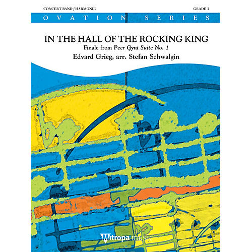 Mitropa Music In the Hall of the Rocking King Concert Band Level 3 Arranged by Stefan Schwalgin thumbnail