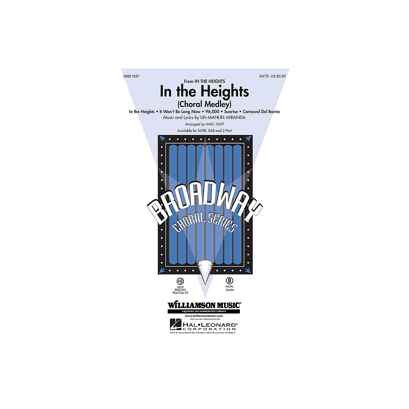 Hal Leonard In the Heights (Choral Medley) ShowTrax CD Arranged by Mac Huff thumbnail