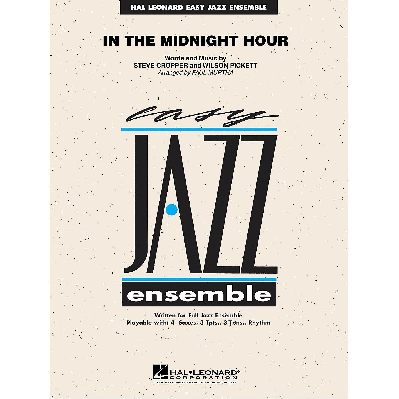 Hal Leonard In the Midnight Hour Jazz Band Level 2 Arranged by Paul Murtha thumbnail