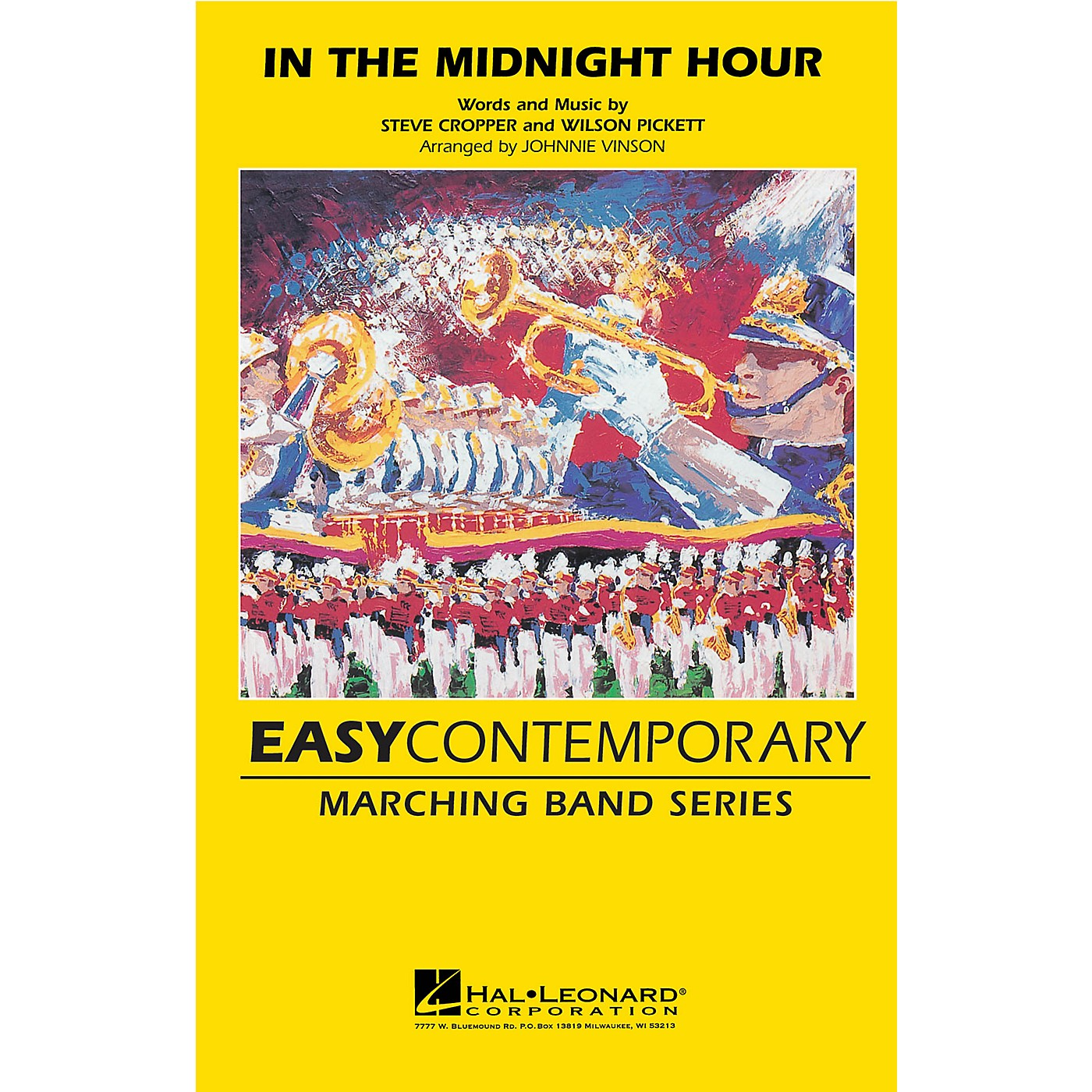 Hal Leonard In the Midnight Hour Marching Band Level 2-3 by Wilson Pickett Arranged by Johnnie Vinson thumbnail