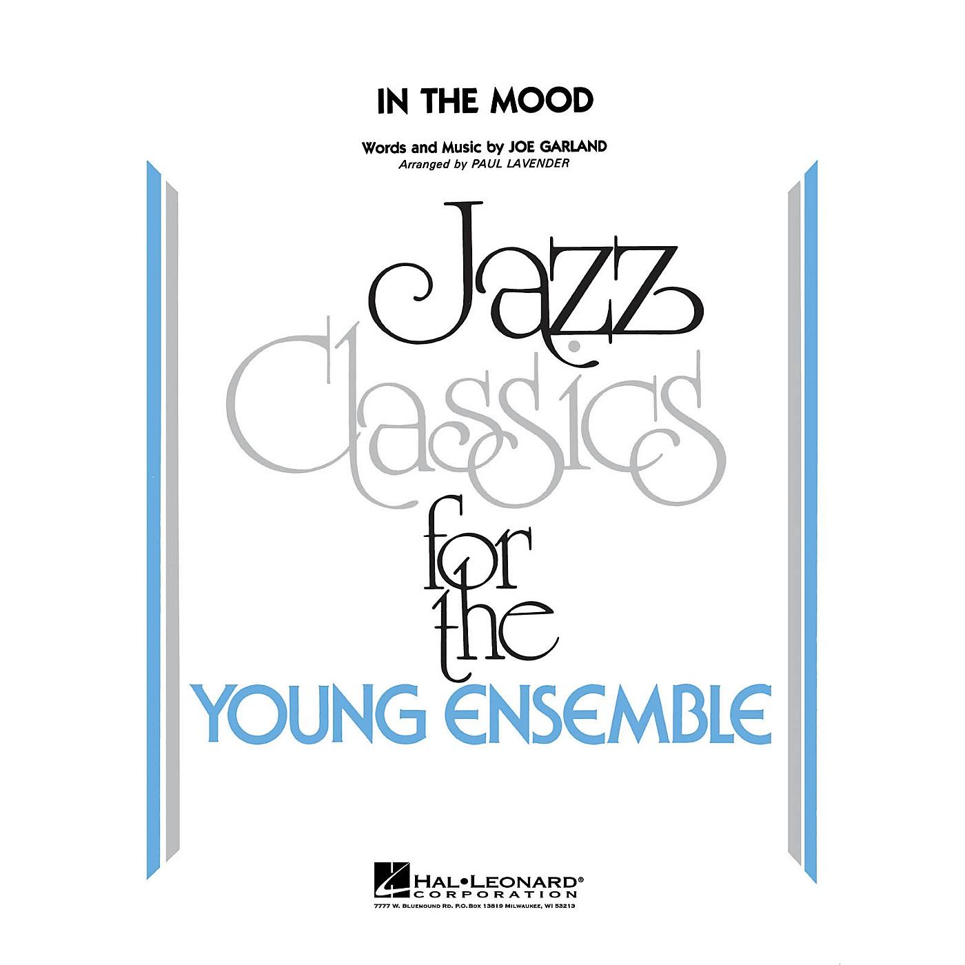 Hal Leonard In the Mood Jazz Band Level 3 by Glenn Miller Arranged by Paul Lavender thumbnail