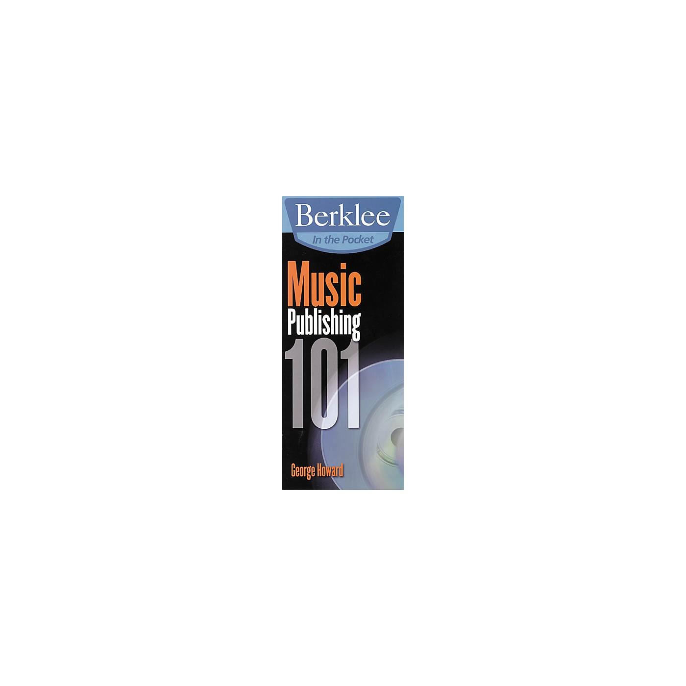 Berklee Press In the Pocket Music Publishing 101 thumbnail