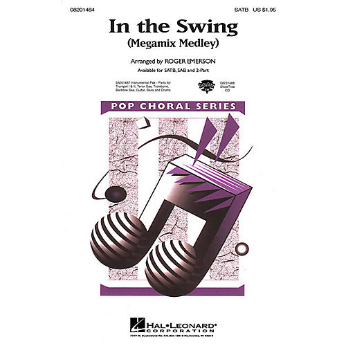 Hal Leonard In the Swing (Medley) Combo Parts Arranged by Roger Emerson thumbnail