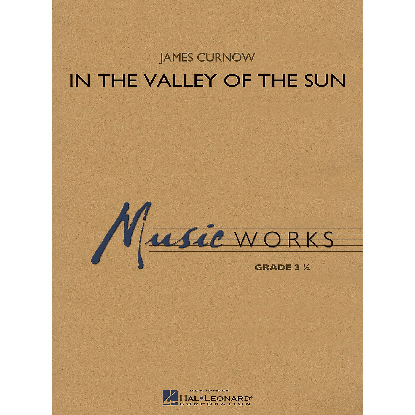 Hal Leonard In the Valley of the Sun Concert Band Level 3.5 Composed by James Curnow thumbnail