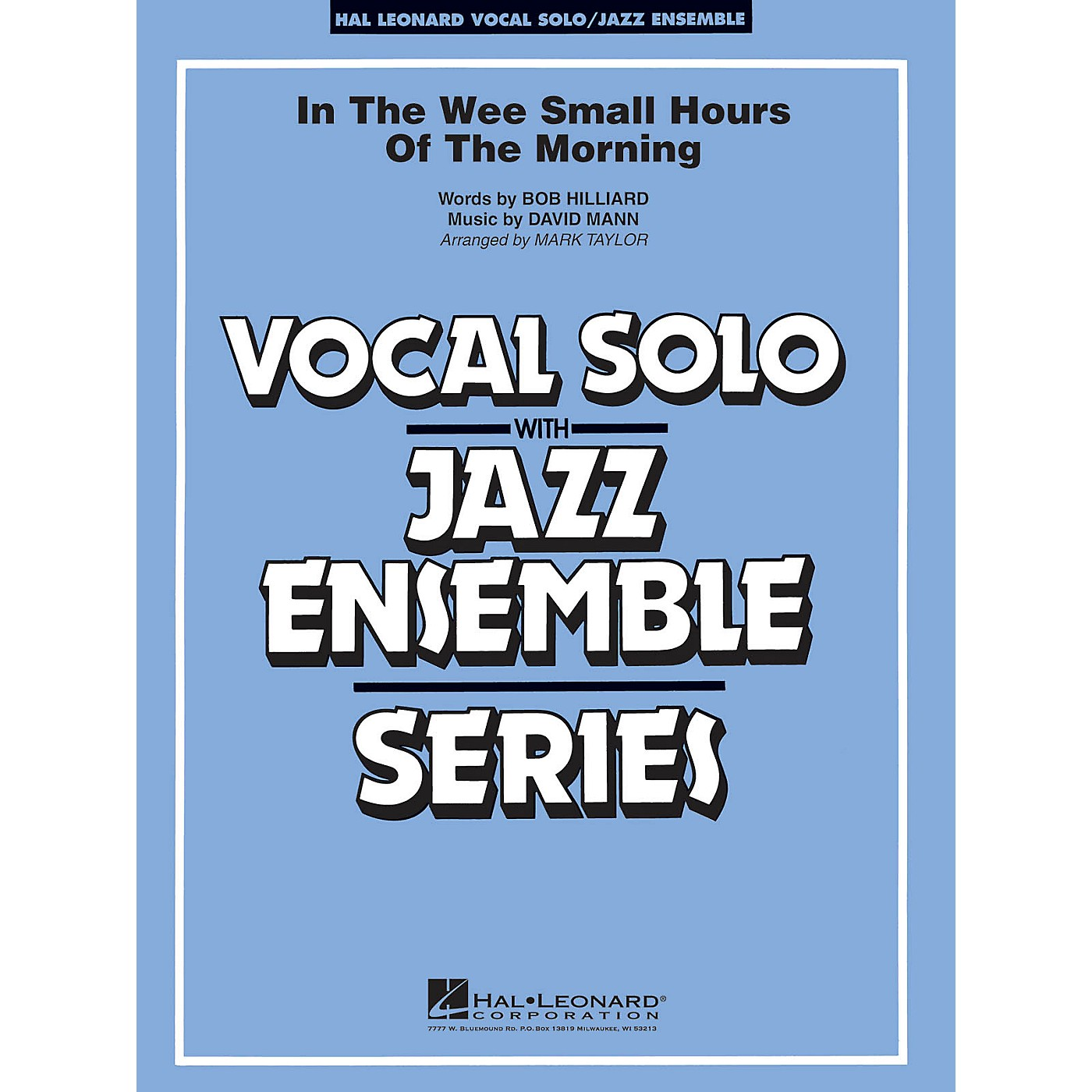 Hal Leonard In the Wee Small Hours of the Morning (Key: B-flat) Jazz Band Level 3 thumbnail