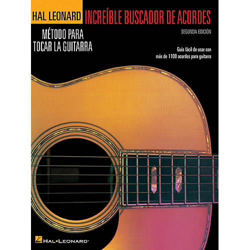 Hal Leonard Incredible Chord Finder - Spanish Edition, 2nd Edition Guitar Method Series Softcover Written by Various thumbnail