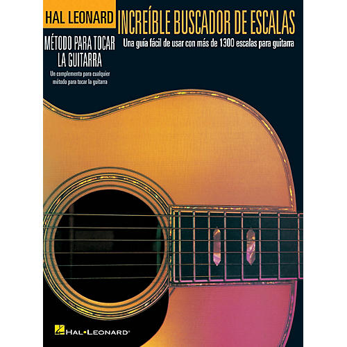Hal Leonard Incredible Scale Finder - Spanish Edition Guitar Method Series Softcover Written by Various thumbnail