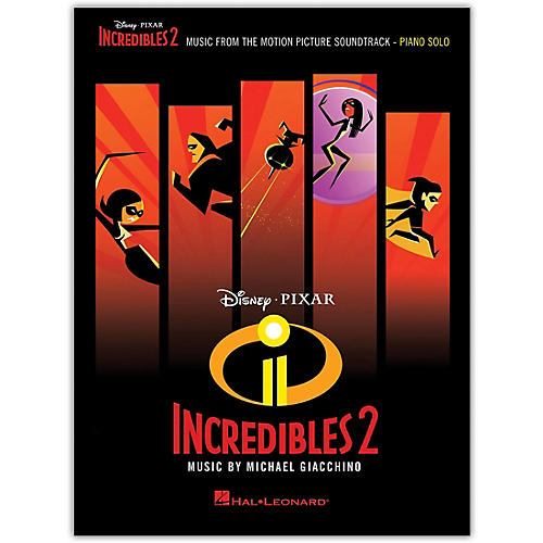 Hal Leonard Incredibles 2 (Music from the Motion Picture Soundtrack) Piano Solo Songbook thumbnail