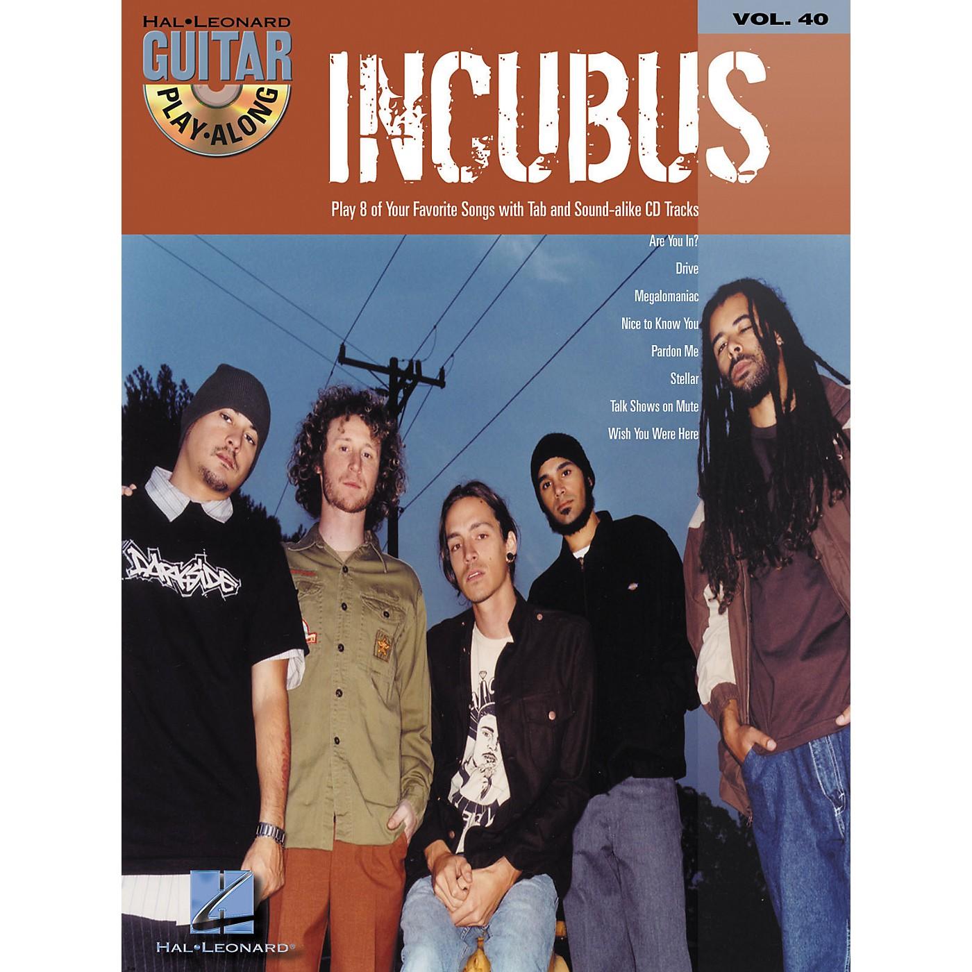 Hal Leonard Incubus Guitar Play-Along Vol. 40 Book with CD thumbnail