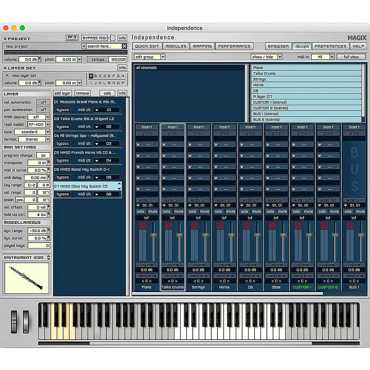 Magix Independence Pro Standard PC/MAC thumbnail