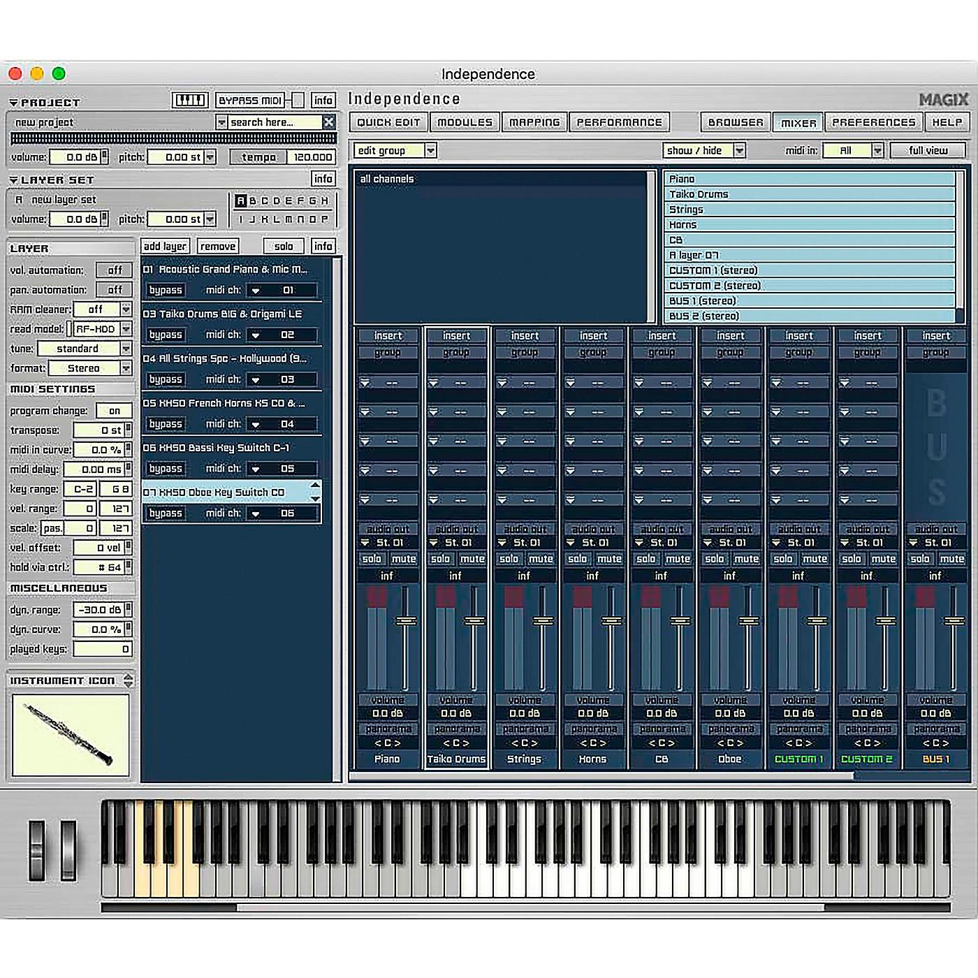 Magix Independence Pro Suite PC/MAC thumbnail