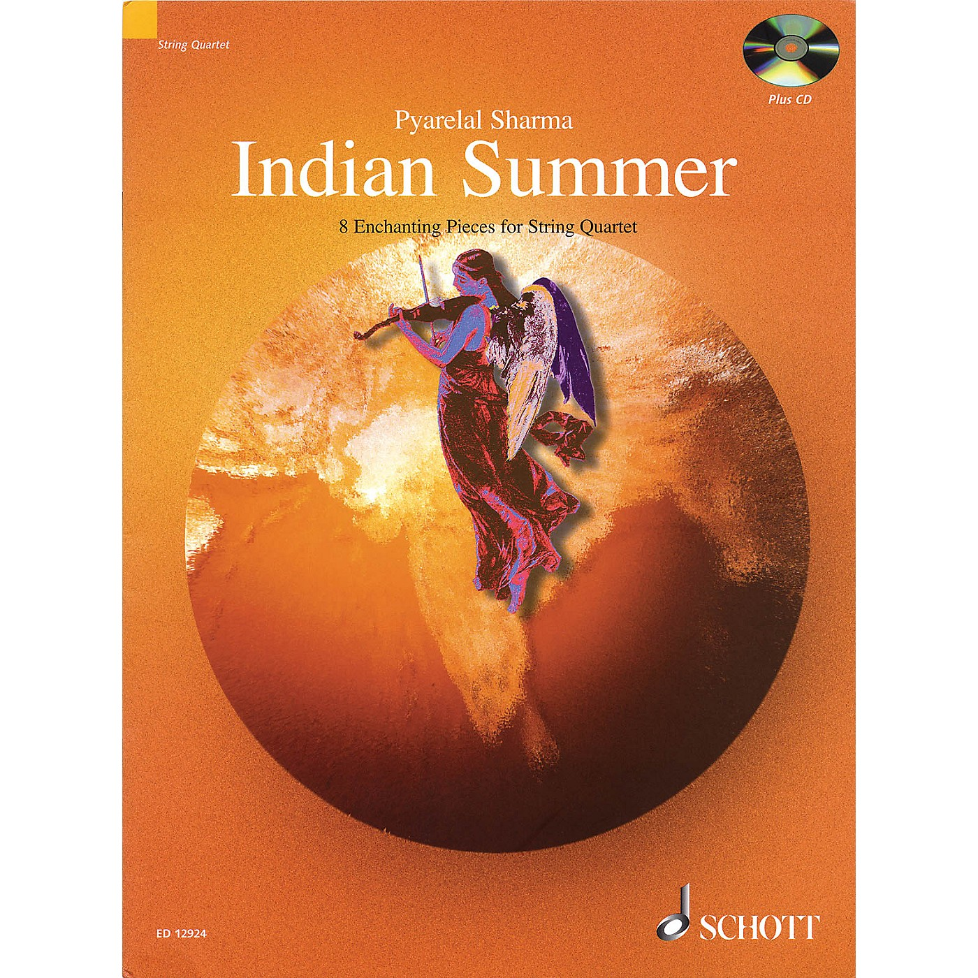 Schott Indian Summer (8 Enchanting Pieces for String Quartet) String Series Composed by Pyarelal Sharma thumbnail