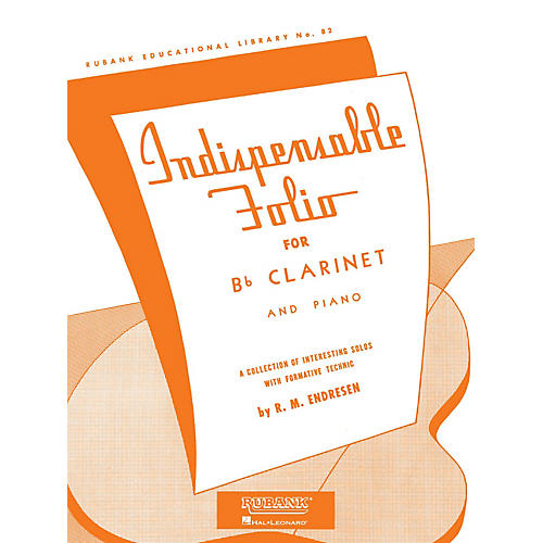 Rubank Publications Indispensable Folio - Bb Clarinet and Piano Rubank Solo Collection Series thumbnail