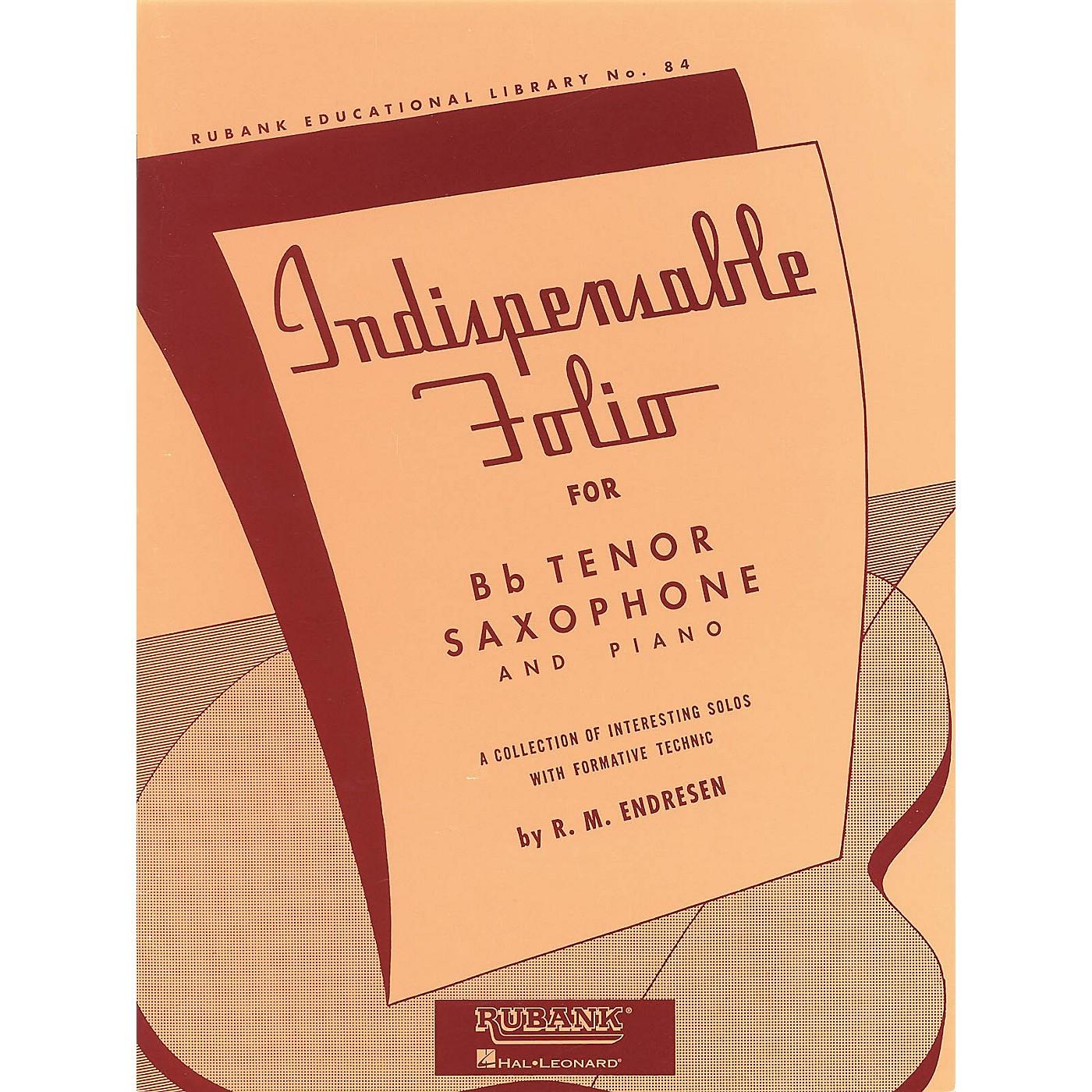 Rubank Publications Indispensable Folio - Bb Tenor Saxophone and Piano Rubank Solo Collection Series thumbnail