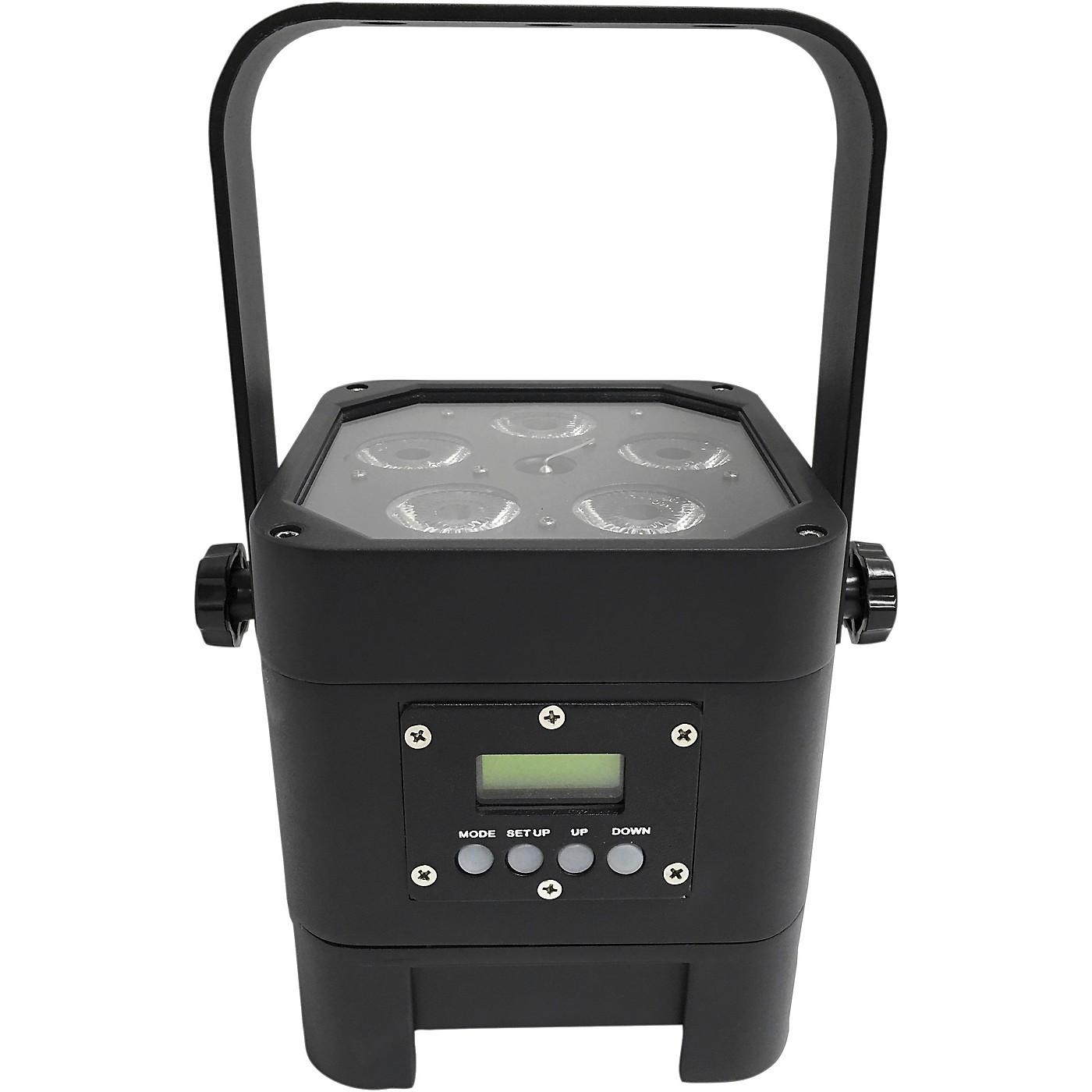 Eliminator Lighting Indy Hex Par Wireless Outdoor RGBWA+UV LED Wash Light thumbnail