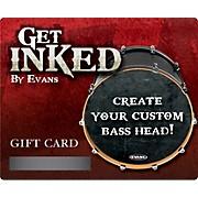 Inked by Evans Custom Bass Head Gift Card