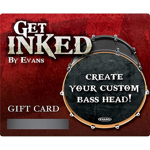 Evans Inked by Evans Custom Bass Head Gift Card-thumbnail