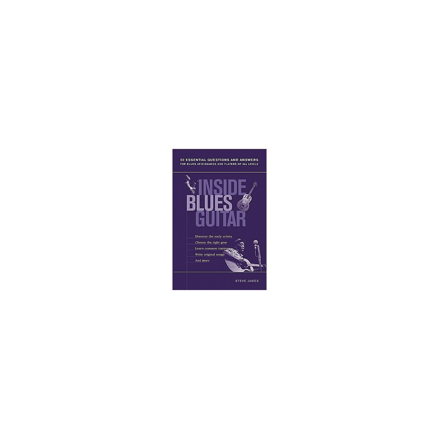 String Letter Publishing Inside Blues Guitar Book thumbnail