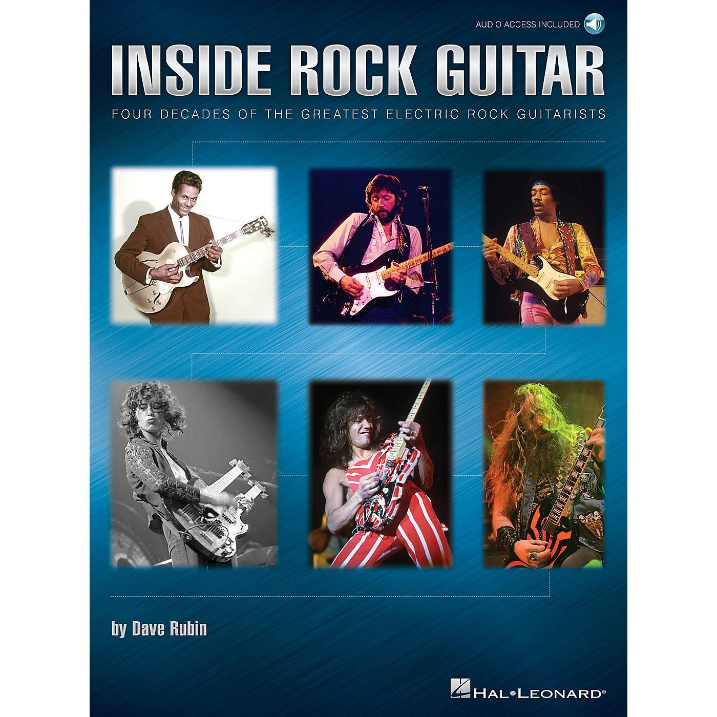 Hal Leonard Inside Rock Guitar Guitar Educational Series Softcover Audio Online Written by Dave Rubin thumbnail