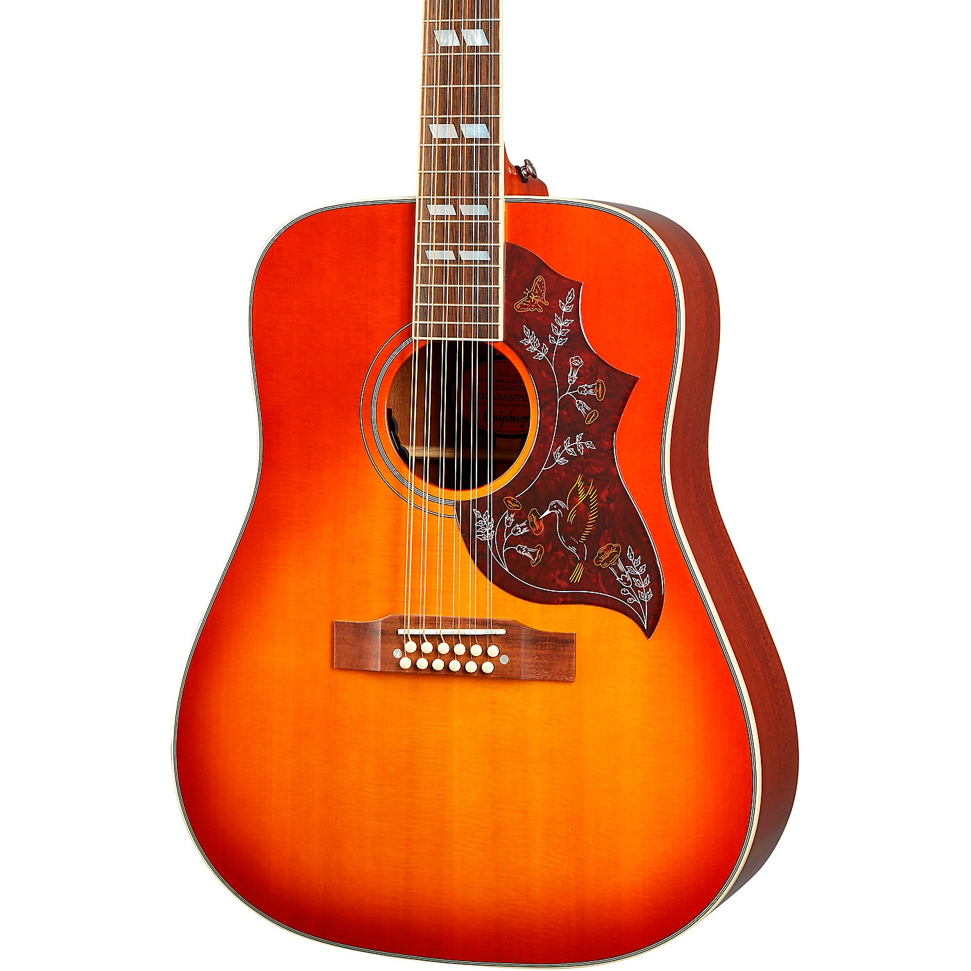Epiphone Inspired by Gibson Hummingbird 12-String Acoustic-Electric Guitar thumbnail