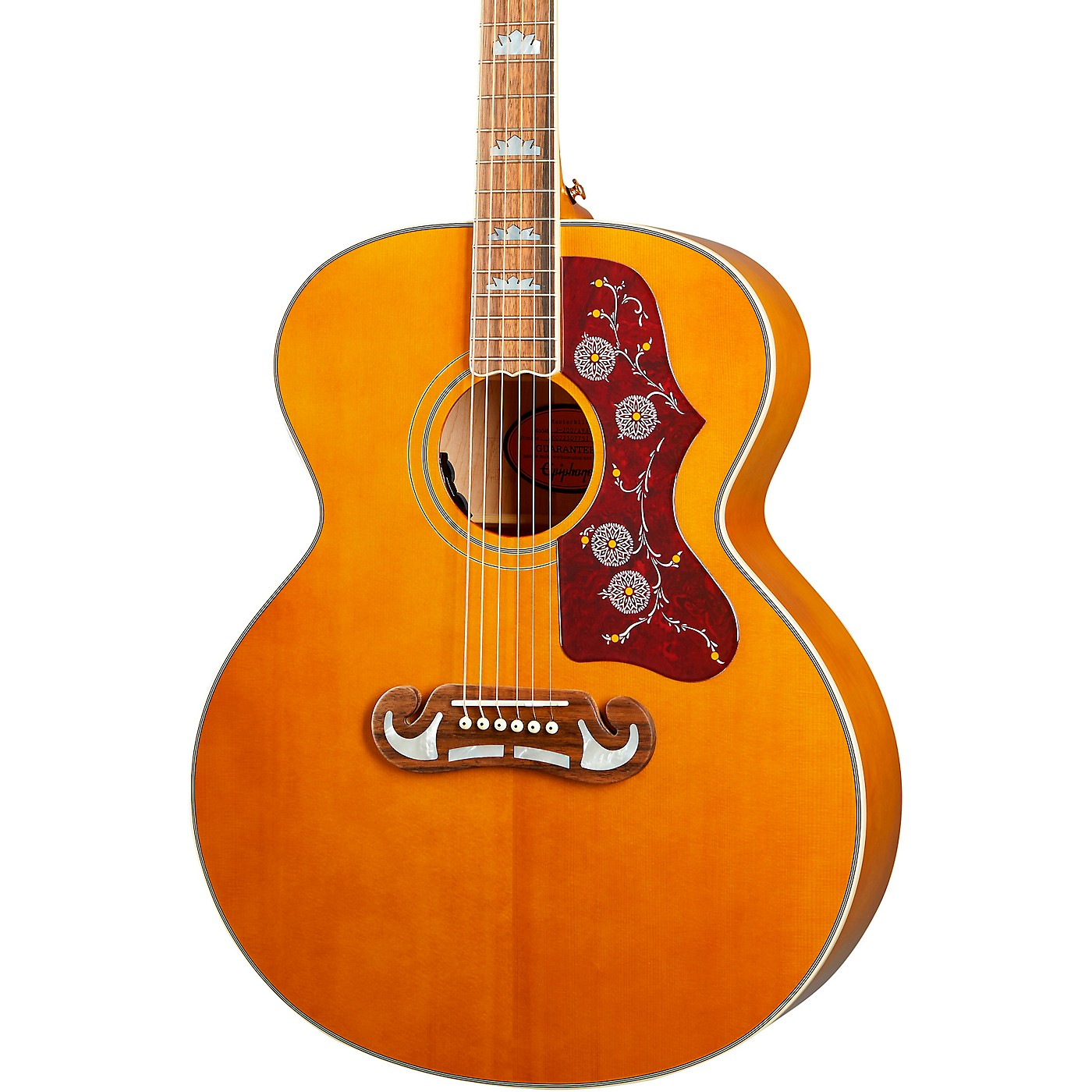 Epiphone Inspired by Gibson J-200 Acoustic-Electric Guitar thumbnail