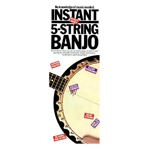 Music Sales Instant 5 String Banjo-thumbnail