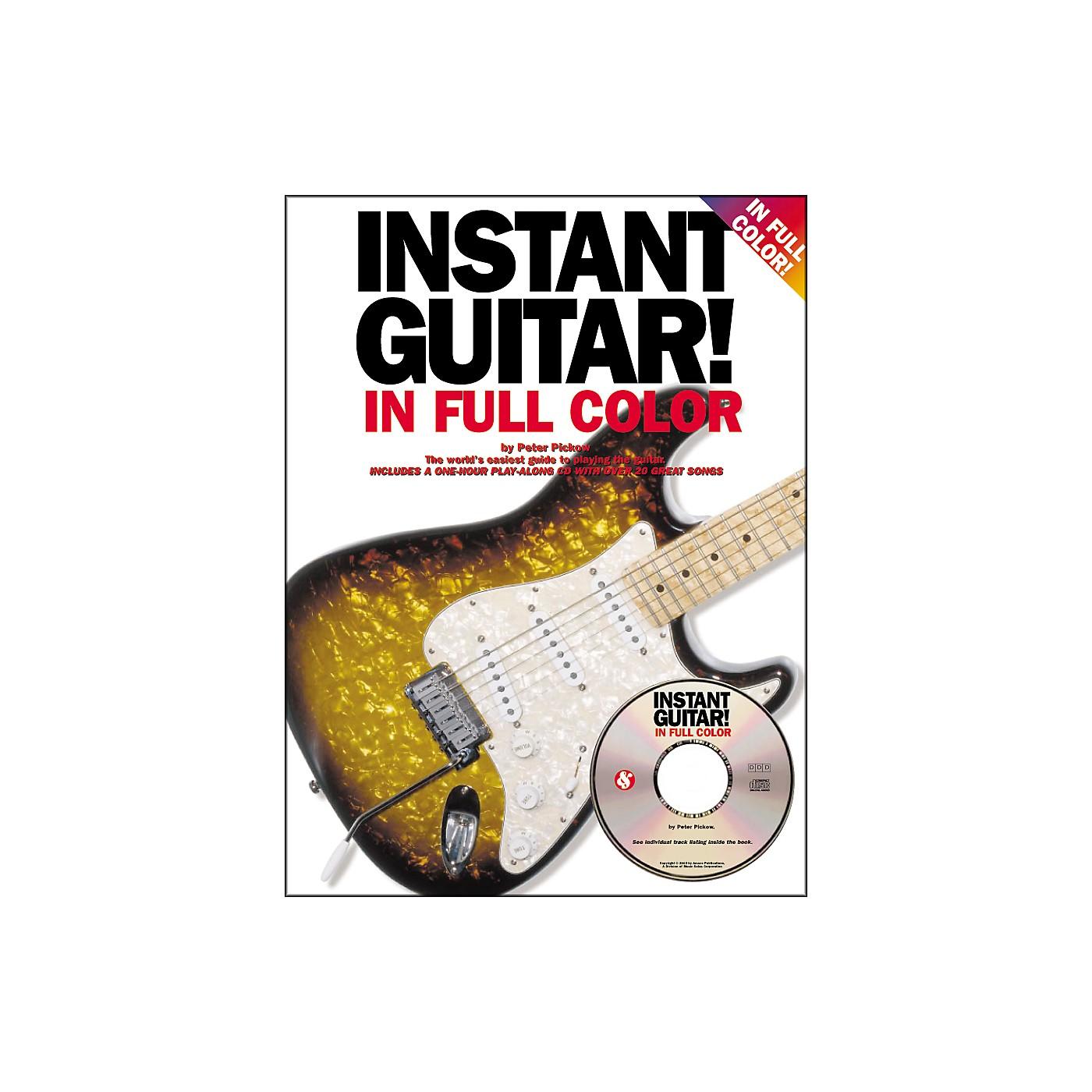 Music Sales Instant Guitar! in Full Color (Book/CD) thumbnail