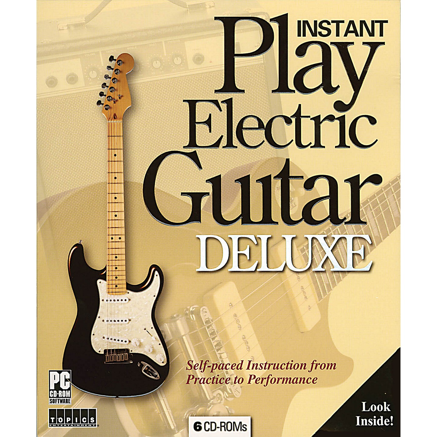 Music Sales Instant Play Electric Guitar Deluxe Music Sales America Series CD-ROM thumbnail