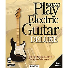Music Sales Instant Play Electric Guitar Deluxe Music Sales America Series CD-ROM
