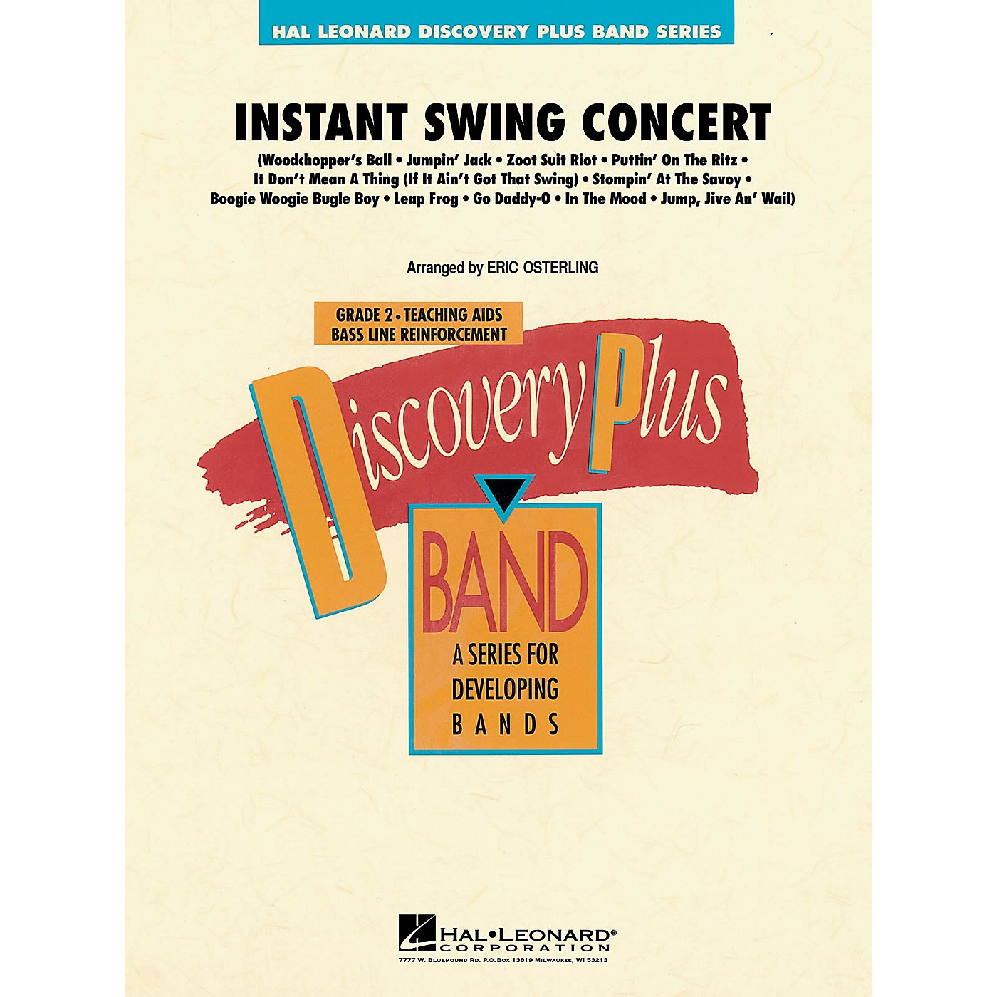 Hal Leonard Instant Swing Concert - Discovery Plus Concert Band Series Level 2 arranged by Eric Osterling thumbnail