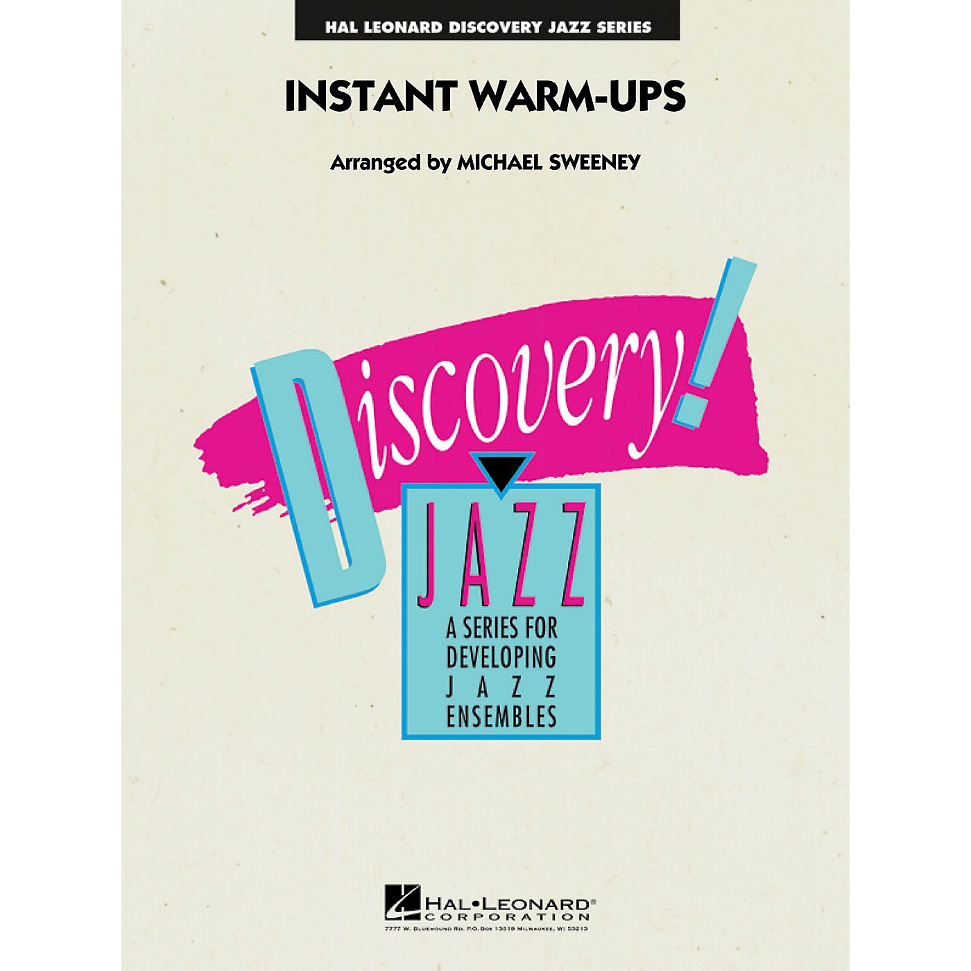 Hal Leonard Instant Warm-Ups Jazz Band Level 1-2 Composed by Michael Sweeney thumbnail