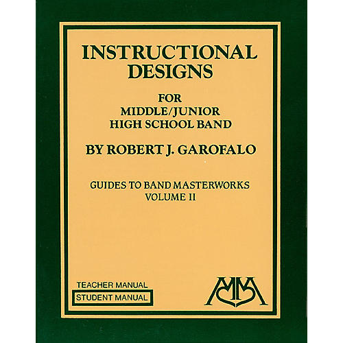 Meredith Music Instructional Designs for Middle/Junior High School Bands Meredith Music Resource by Robert Garofalo thumbnail