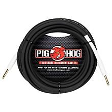 """Pig Hog Instrument Cable 1/4"""" - 1/4"""" (1 ft.)"""