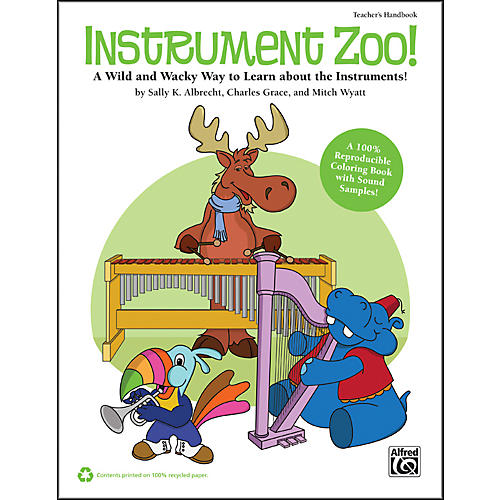 Alfred Instrument Zoo! Book & CD thumbnail