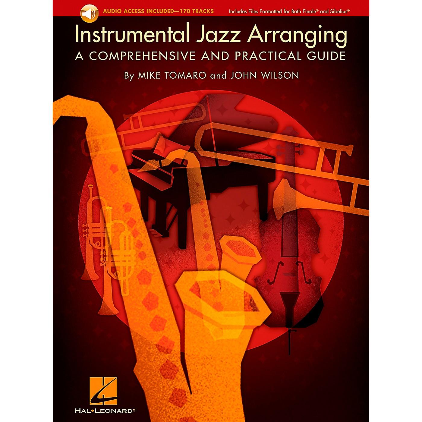Hal Leonard Instrumental Jazz Arranging: A Comprehensive And Practical Guide Book/2CD Pack thumbnail