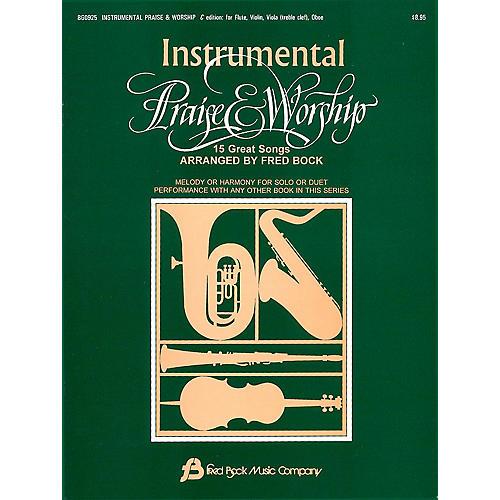 Fred Bock Music Instrumental Praise & Worship C thumbnail
