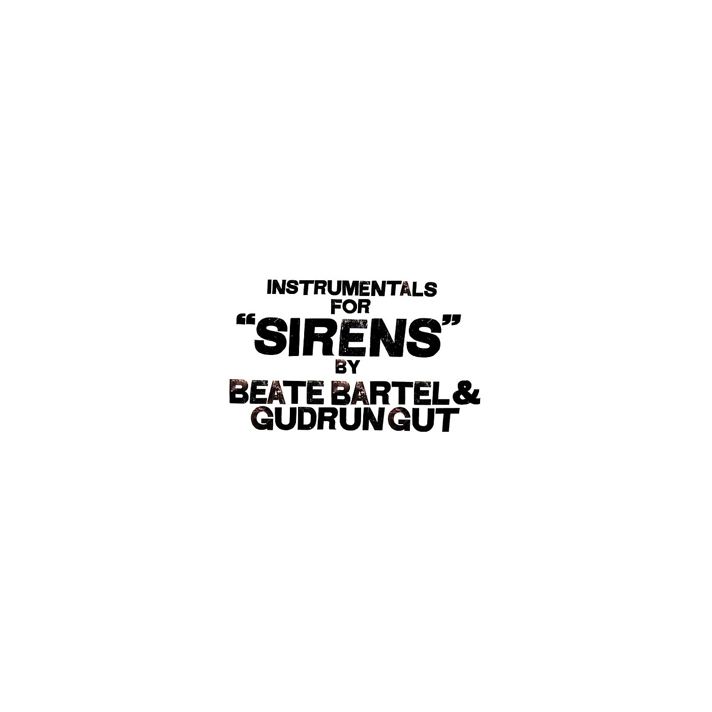 Alliance Instrumentals For Sirens thumbnail