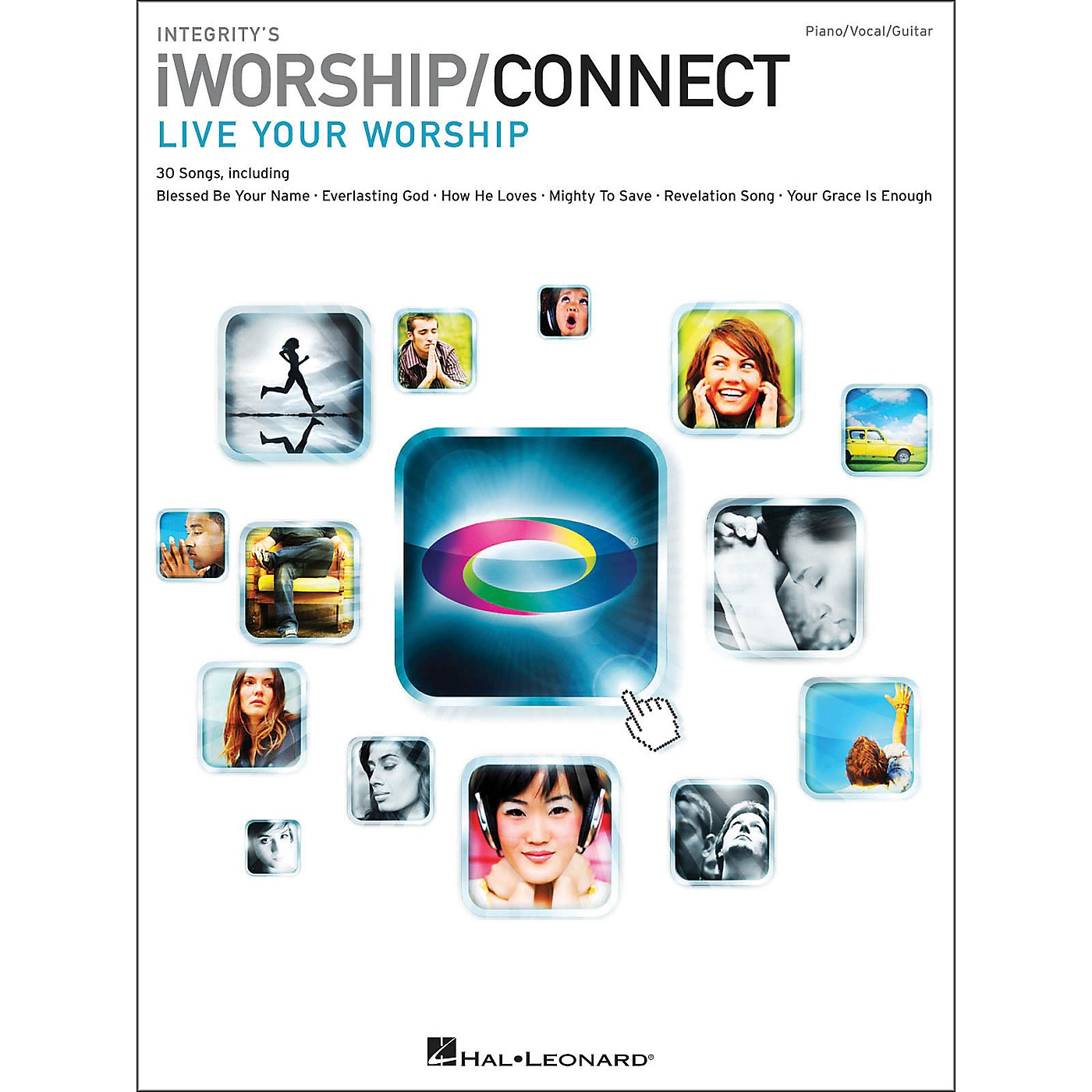 Integrity Music Integrity's iworship/Connect Songbook arranged for piano, vocal, and guitar (P/V/G) thumbnail