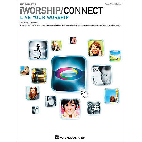 Integrity Music Integrity's iworship/Connect Songbook arranged for piano, vocal, and guitar (P/V/G)-thumbnail