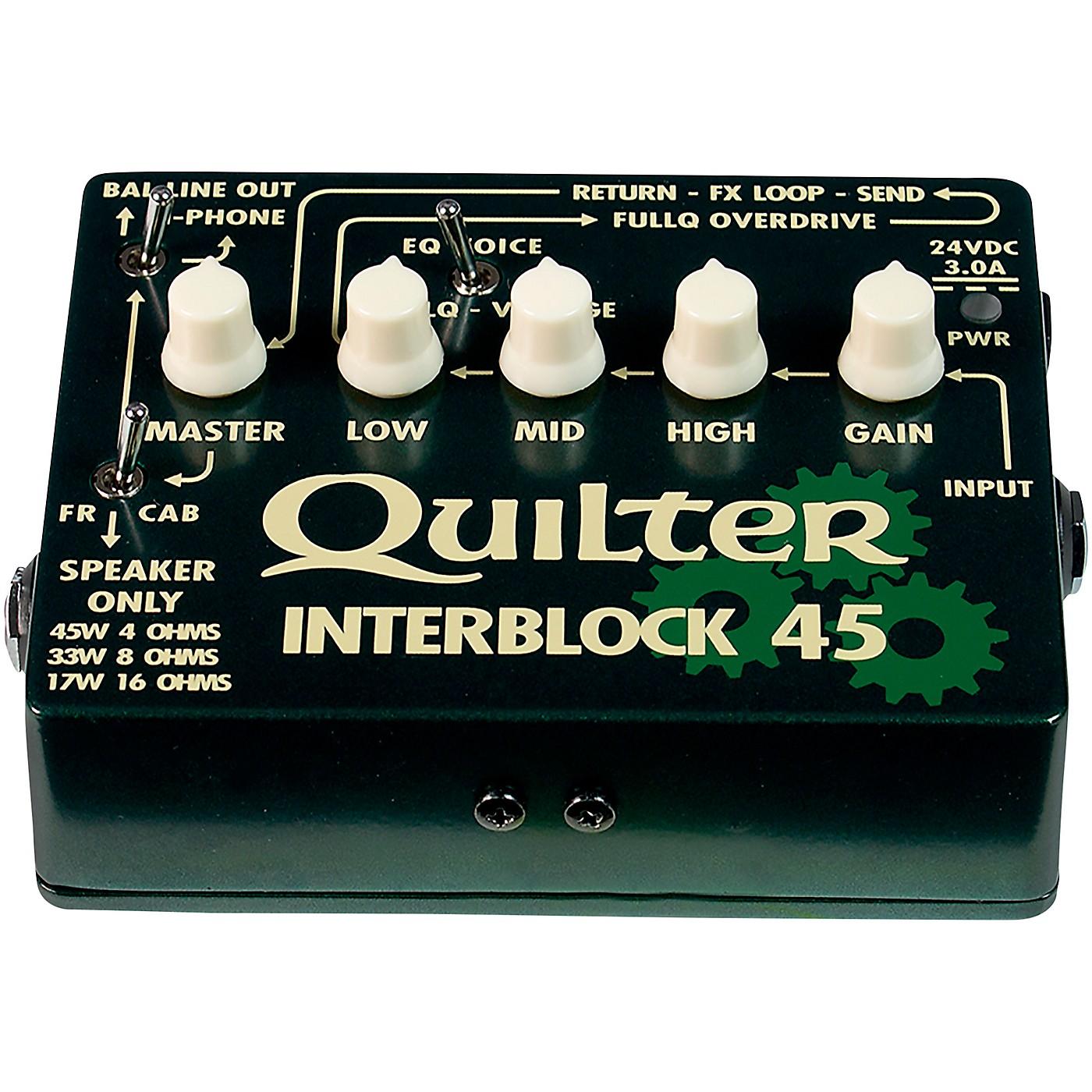 Quilter Labs InterBlock 45 45W Guitar Amp Head thumbnail