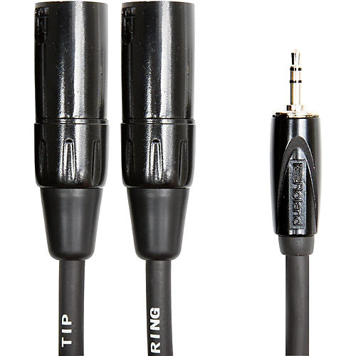 Roland Interconnect Cable-3.5mm-Dual XLR (Male) thumbnail