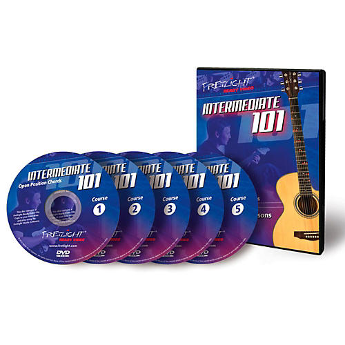 Fretlight Intermediate 101 Course - Video Lessons - Intermediate 101 Course Set (5 Disc) thumbnail