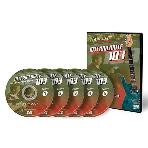 Fretlight Intermediate 103 Course - Video Lessons - Intermediate 103 Course Set (5 Disc) thumbnail