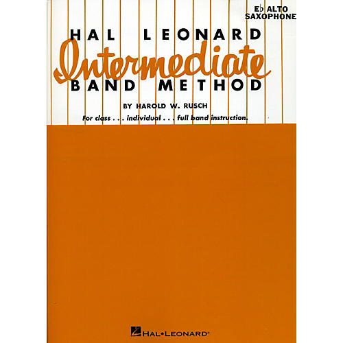 Hal Leonard Intermediate Band Method E Flat Alto Saxophone thumbnail