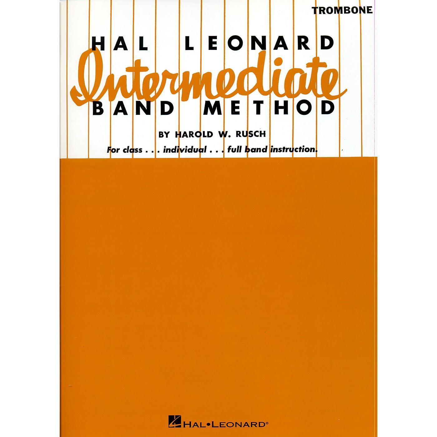 Hal Leonard Intermediate Band Method Trombone thumbnail