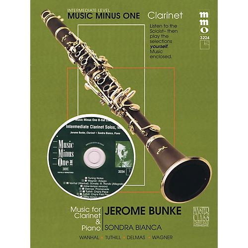 Music Minus One Intermediate Clarinet Solos - Vol. II Music Minus One Series BK/CD Performed by Jerome Bunke thumbnail