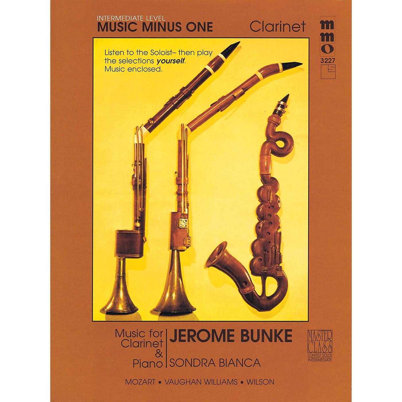 Music Minus One Intermediate Clarinet Solos - Volume 3 Music Minus One Series BK/CD by Stanley Drucker thumbnail
