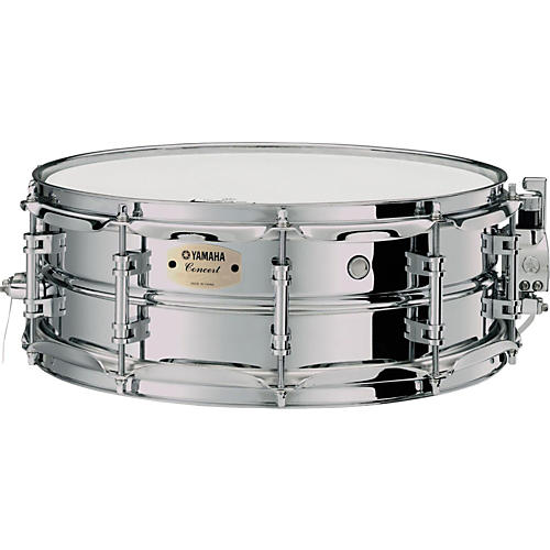 Yamaha Intermediate Concert Snare Drum; 1.2mm Chrome-Plated Steel Shell thumbnail
