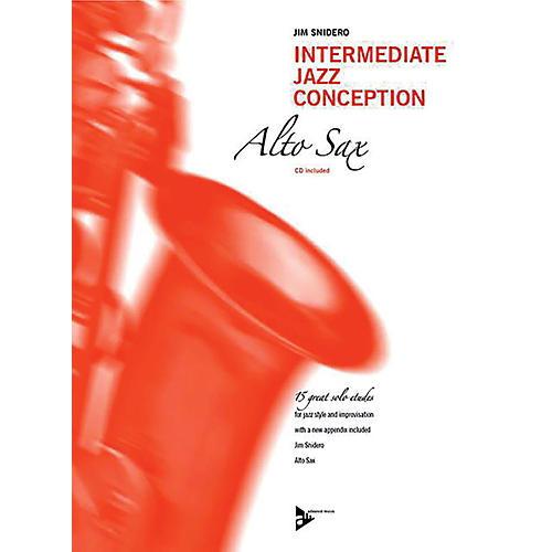 ADVANCE MUSIC Intermediate Jazz Conception: Alto & Baritone Sax Book & CD Intermediate thumbnail